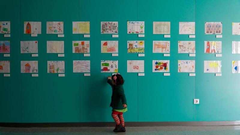 El centro de salud cerro gordo acoge la exposici n de for Centro de salud ciudad jardin badajoz