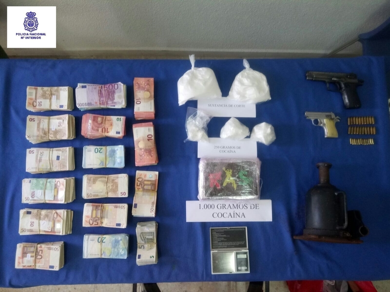 Ingresan en prisión cuatro detenidos en Badajoz dentro de un grupo ''organizado'' sobre tráfico de drogas