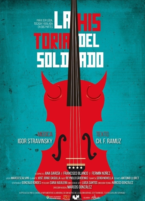El musical 'La historia del soldado' pone fin al programa del Día Mundial del Teatro en el López de Ayala