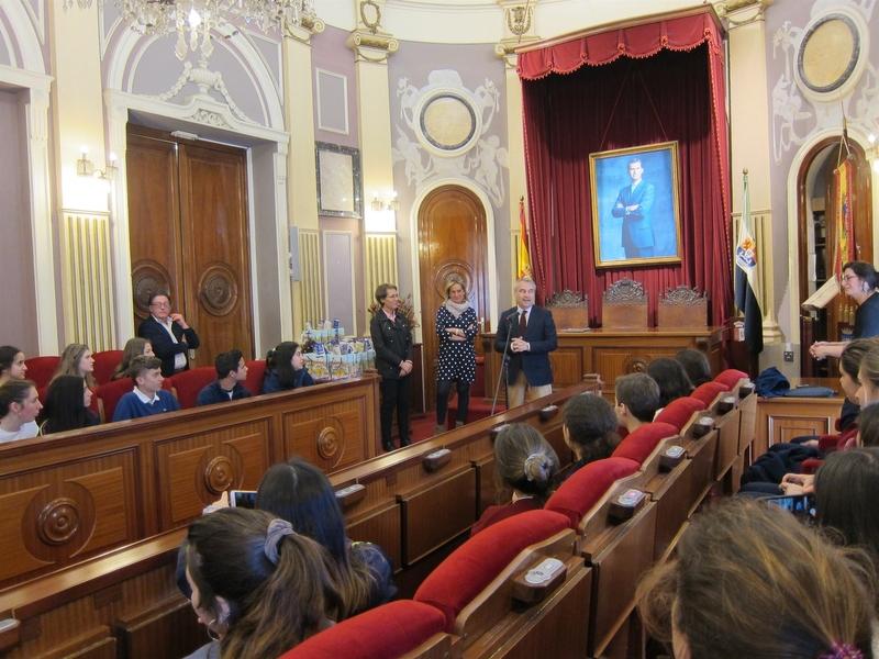 Fragoso considera que ''no se podrían entender'' Badajoz y Extremadura ''sin Europa''