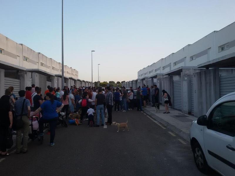 Un adosado ocupado ilegalmente en Cerro Gordo inquieta a los vecinos