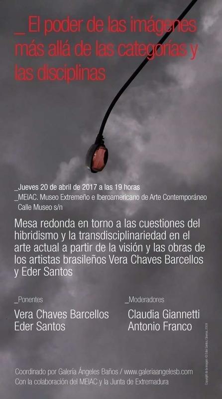El poder de las imágenes se abordará en una mesa redonda en Badajoz a través de obras de dos artistas brasileños