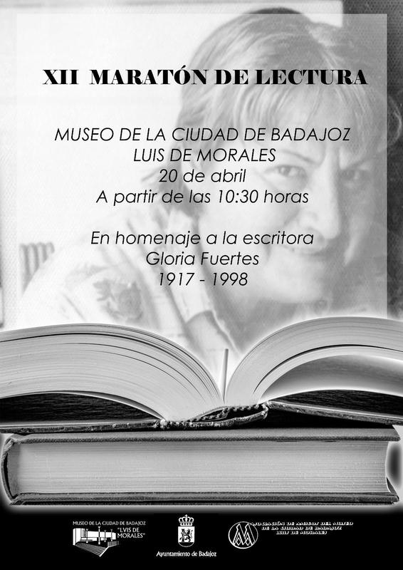 Un maratón de lectura homenajeará en Badajoz la figura de Gloria Fuertes con motivo del Día del Libro