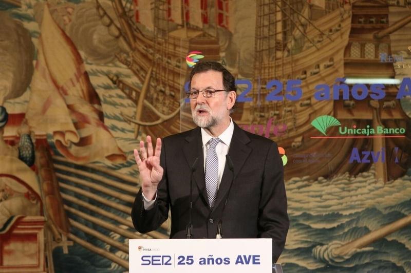 Rajoy marca ''finales de 2019'' como plazo para terminar las obras de la alta velocidad entre Badajoz y Plasencia