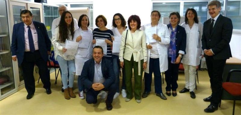 Seis profesionales del Centro de Salud Badajoz-San Roque reciben el Premio de Educación para la Salud