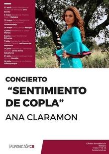 Fundación Caja Badajoz organiza un nuevo ciclo de conciertos de copla de la mano de la artista Ana Claramón