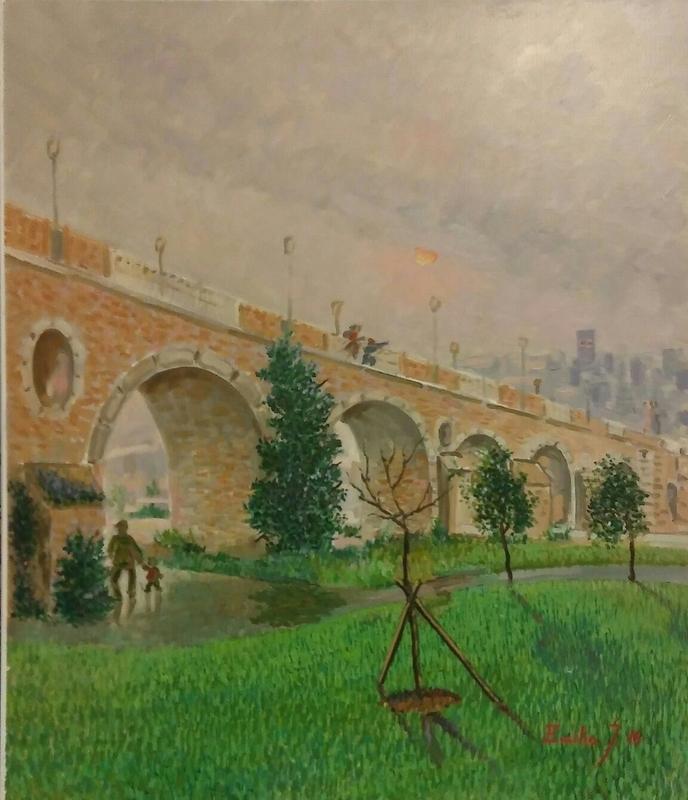 Emilio José Rodríguez Carbonell expone en Badajoz obras que muestran diversos estilos y temas de su última etapa