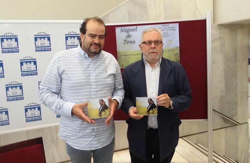 Miguel de Tena presentará ''Fandangos de cacería II'' este jueves en el López