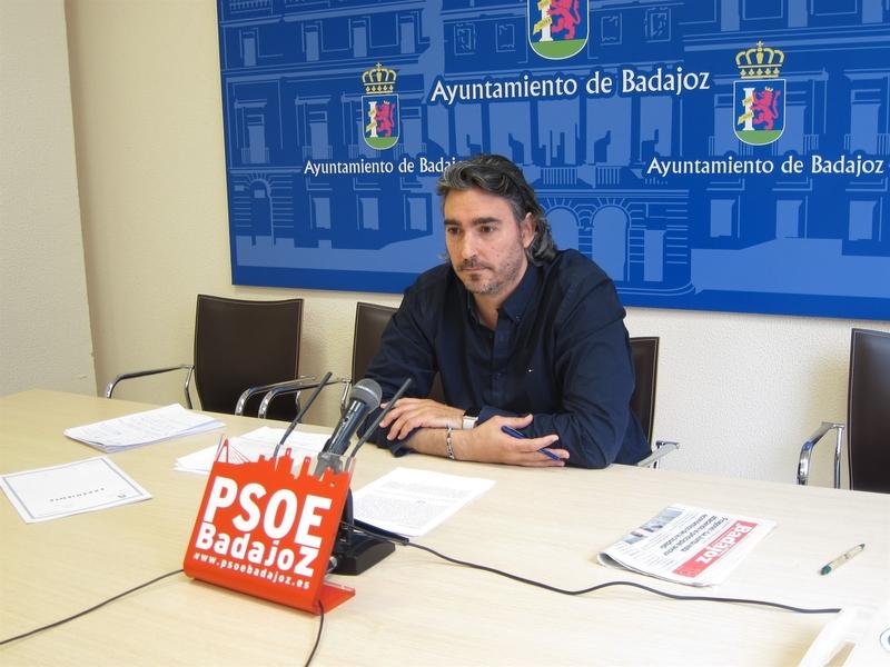 El PSOE local de Badajoz asegura que la sentencia del TSJEx sobre el comercio es un ''varapalo'' para Fragoso