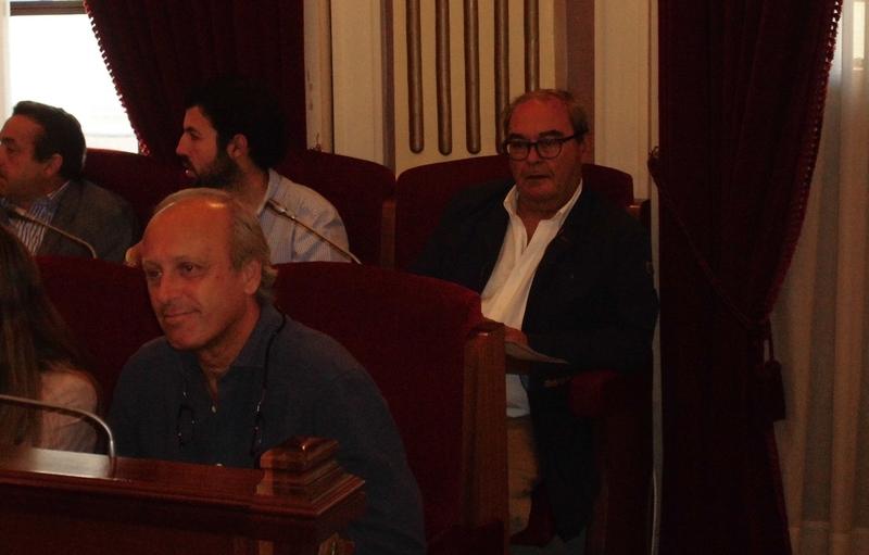 Borruel reitera en el Pleno del ayuntamiento que el portavoz de C's ''legalmente continúa siendo él''