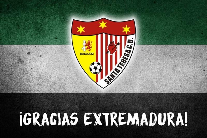 El Santa Teresa Badajoz llevará con ''orgullo'' la Medalla de Extremadura