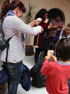 Alrededor de 160 niños disfruta de los talleres de verano del Museo Arqueológico de Badajoz