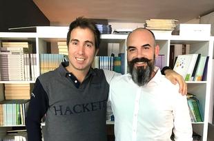 D'AMICO Y ÁLVARO ROA PRESENTAN SU LIBRO 'HAPPY FÚTBOL, LA PANDILLA DEL GATO' EN ÁMBITO CULTURAL