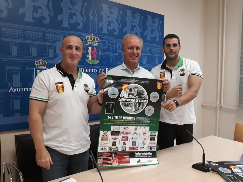 Badajoz será sede del Campeonato de España de Fisicoculturismo y Fitness
