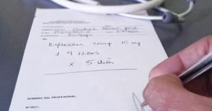 Dos detenidos en Badajoz por falsificar recetas médicas para adquirir medicamentos de forma ilegal