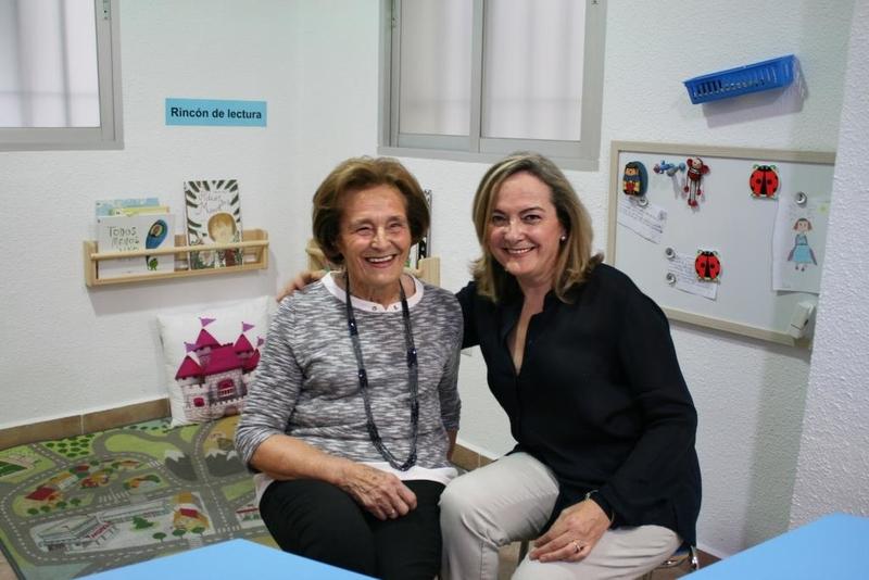 La pacense María del Carmen Plá, de 81 años, la alumna más veterana en concluir el programa de lectura de Kumon