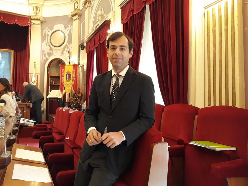 Manuel Fuentes, nuevo concejal del PP en Badajoz