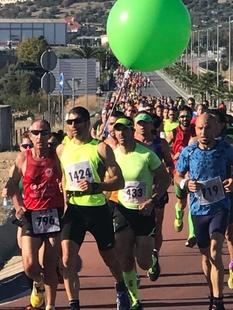 El portugués Bruno Paixao y la española Mamen Ledesma vencen en el Medio Maratón Elvas-Badajoz