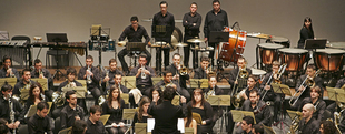 La Banda Sinfónica del Conservatorio Superior de Música ''Bonifacio Gil'' abre la XXXIX Semana de Santa Cecilia
