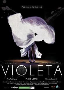 La obra de danza-teatro ''Violeta. Pasión por la libertad'' llega este jueves a Badajoz