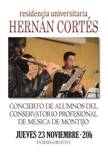 La Orquesta de Cámara del Conservatorio de Montijo ofrece un concierto este jueves en Badajoz