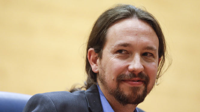 Pablo Iglesias participa el viernes en un acto en Badajoz