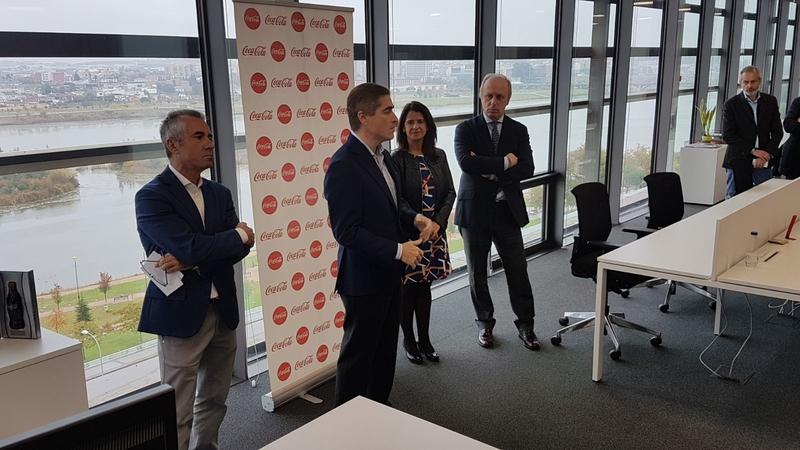 COCA-COLA European Partners  inaugura sus nuevas oficinas en Badajoz