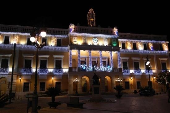 ''Badajoz,  la ciudad encendida... por Navidad''