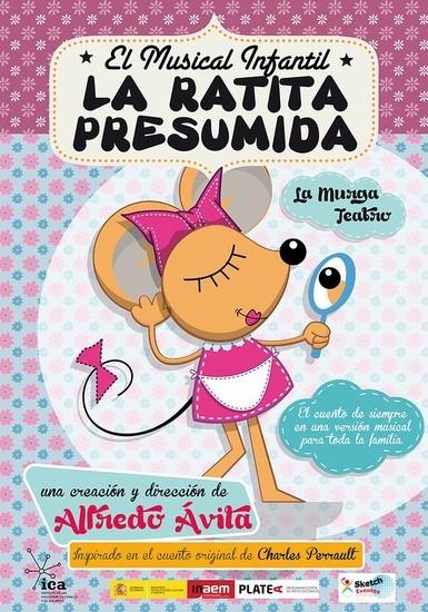 'La Murga Teatro' ofrece el próximo domingo en Badajoz el musical infantil ''La ratita presumida''