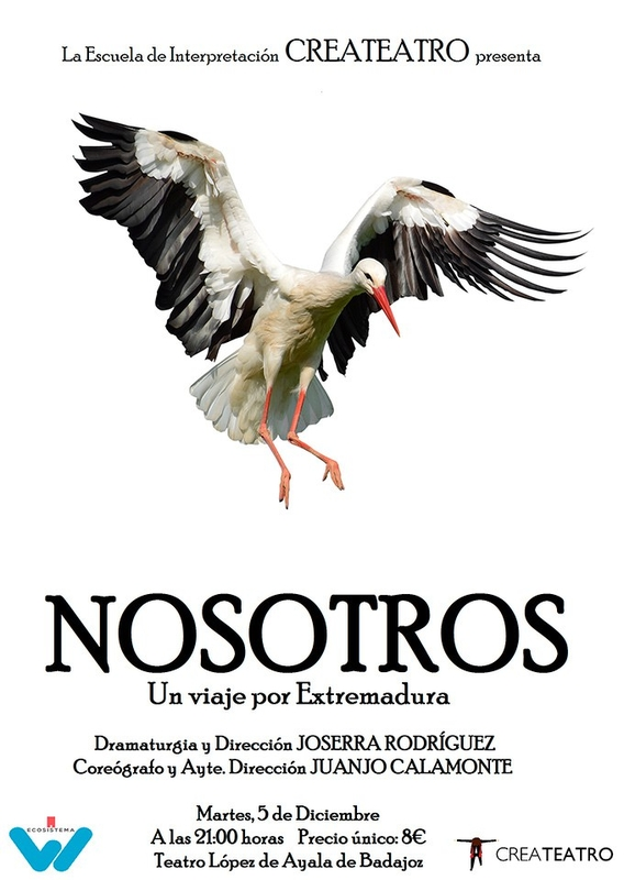 El Teatro López de Ayala ofrecerá la obra 'Nosotros', que mostrará la evolución de Extremadura
