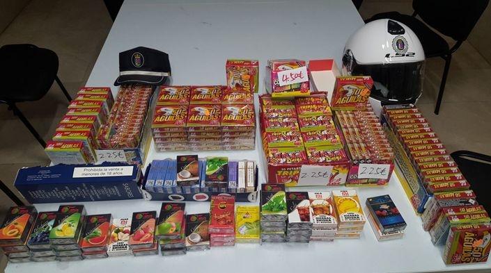 Denunciado un establecimiento de Badajoz por vender productos pirotécnicos sin autorización