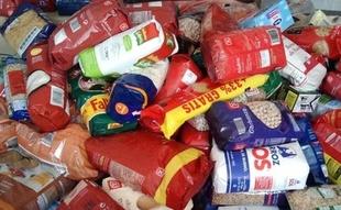 El I Festival Polvorón Rock recauda 380 kilos de productos destinados al Banco de Alimentos de Badajoz