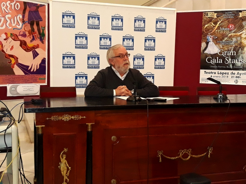 El espectáculo flamenco de Diego Carrasco encabeza la programación navideña del López