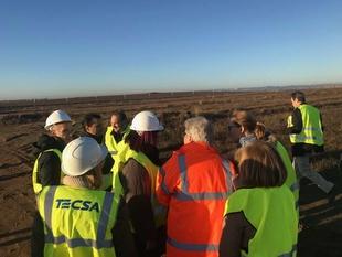 Bruselas destaca el buen desarrollo de las obras de la Plataforma Logística de Badajoz