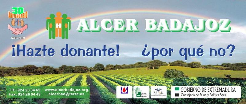 Alcer celebrará este sábado en Badajoz unas jornadas provinciales para pacientes renales y familiares