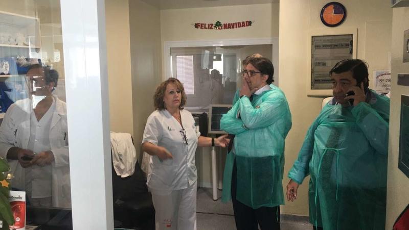 La Junta impulsa el Banco de Tumores y los dispositivos pediátricos del complejo hospitalario universitario de Badajoz