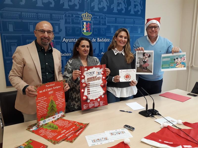 Menacho y Casco Antiguo programan multitud de actividades navideñas como pasacalles, concursos o actuaciones musicales