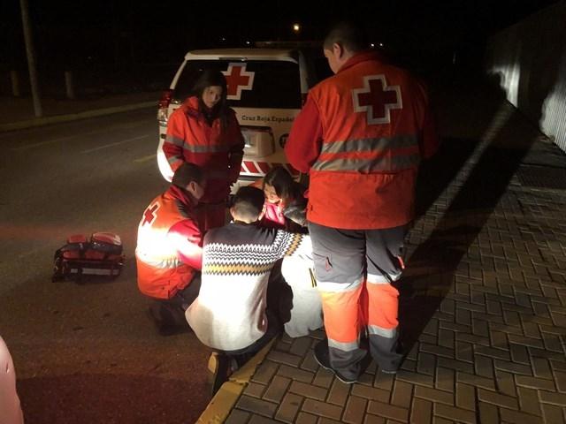 El dispositivo de Cruz Roja para fiestas estudiantiles de Navidad en Badajoz atiende 15 personas por ingesta de alcohol