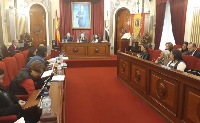El Pleno aprueba una moción para la conversión en autovía de la carretera EX-100 y Ex-107