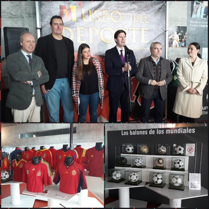 El Museo del Deporte muestra en Badajoz más de 500 objetos relacionados con los hitos más importantes de la historia del deporte
