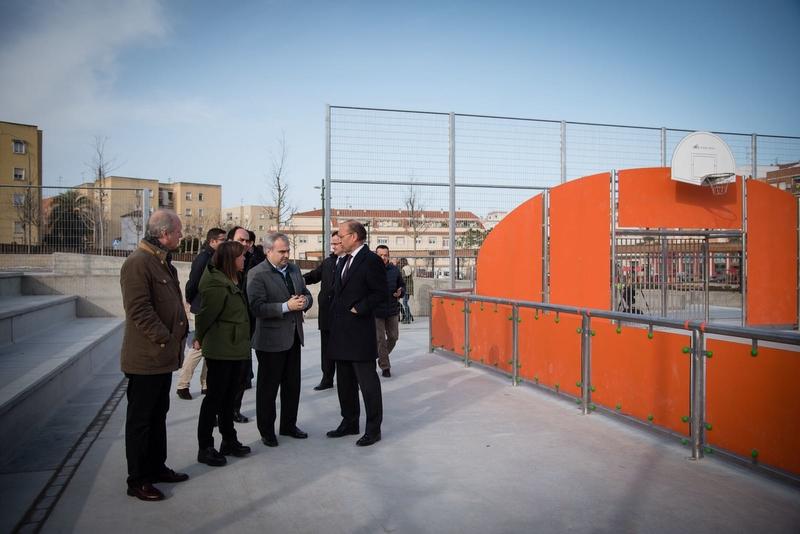 Inauguradas las nuevas pistas deportivas de San Roque