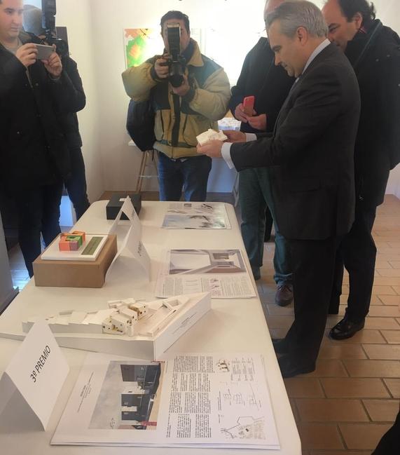 El proyecto ''Seis habitaciones y tres patios'' consigue el primer premio del Concurso de Ideas de El Campillo