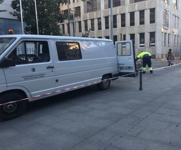 El PSOE de Badajoz critica la gestión del equipo de gobierno local en las obra del Paseo de San Francisco