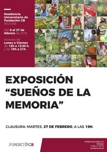 Exposición ''sueños de la memoria'' en la RUCAB