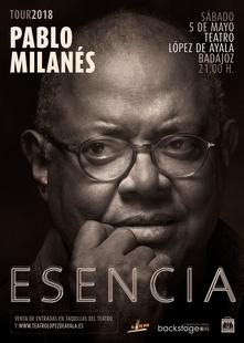 El cantante cubano Pablo Milanés ofrecerá un concierto el próximo 5 de mayo en el Teatro López de Ayala