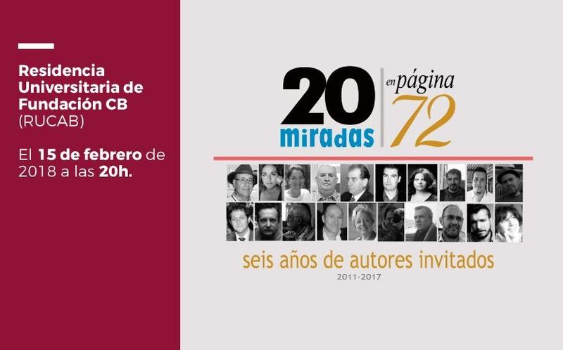 Charlas de autor: ''20 miradas'' de José Manuel Vivas