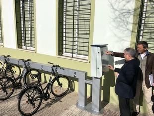 El Sistema Público de Bicicletas estrena nueva parada en la Barriada de Llera
