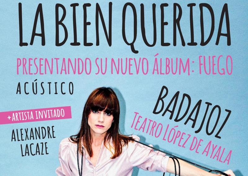 La cantante de pop independiente ''La Bien Querida'' actuará en Badajoz este sábado