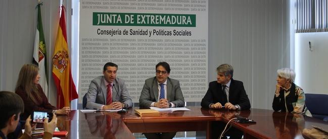 El Hospital Perpetuo Socorro de Badajoz primer centro en el que se aplicará la eficiencia energética de los edificios públicos