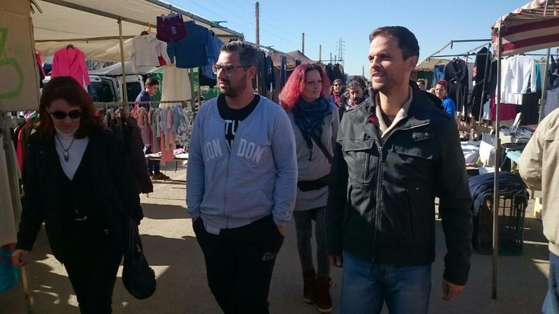 Podemos critica que las políticas del PP en Badajoz están ''acosando'' a los autónomos de los mercadillos